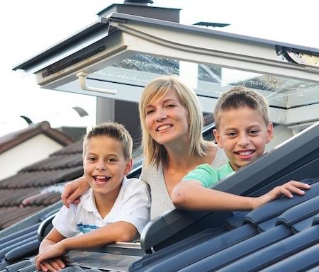 Dachfenster Rollladen